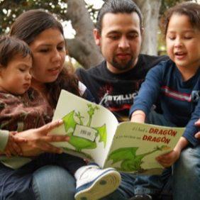 family-reading-books